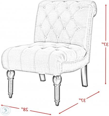 Trendy Harland Modern Armless Slipper Chairs Regarding Twine Slate Gray Armless Chair (View 21 of 30)