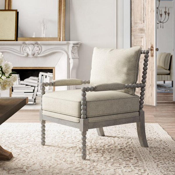 Trendy Reynolds Armchairs Within Spindle Leg Chair (View 17 of 30)