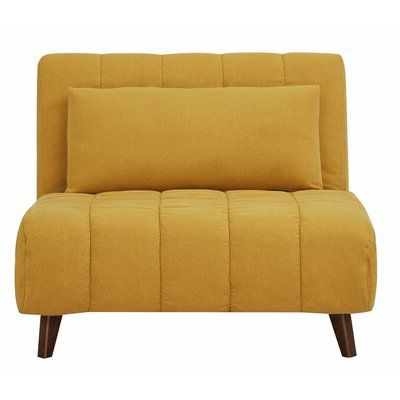 Trendy Zipcode Design Chattahoochee Convertible Chair Upholstery Regarding New London Convertible Chairs (View 14 of 30)