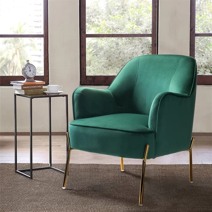 Upholstered Accent Chairs, Accent Chairs In Erastus Armchairs (View 16 of 30)