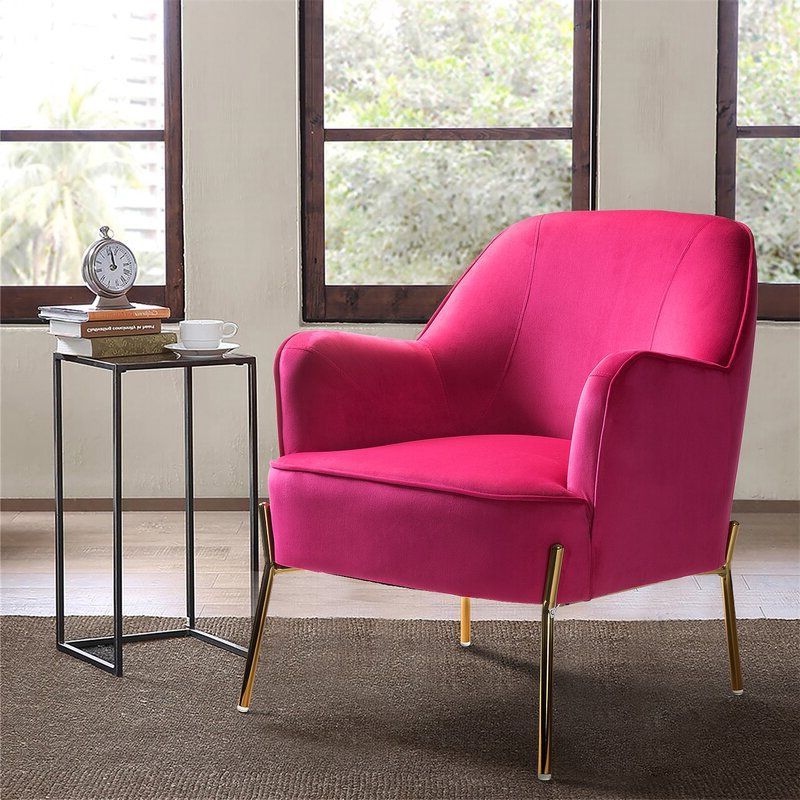 Upholstered Accent Chairs, Living Room (View 4 of 30)