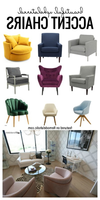 Upholstered Accent Chairs Pertaining To Widely Used Brister Swivel Side Chairs (View 21 of 30)