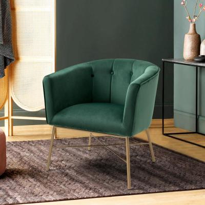Velvet – Accent Chairs – Chairs – The Home Depot Regarding Well Known Easterling Velvet Slipper Chairs (View 10 of 30)