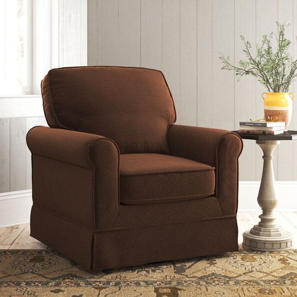 Vineland Polyester Swivel Armchairs Pertaining To Popular Waldenburg (View 26 of 30)