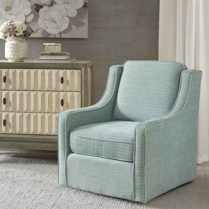 Vineland Polyester Swivel Armchairs Throughout Recent Vineland Swivel Armchair (View 6 of 30)