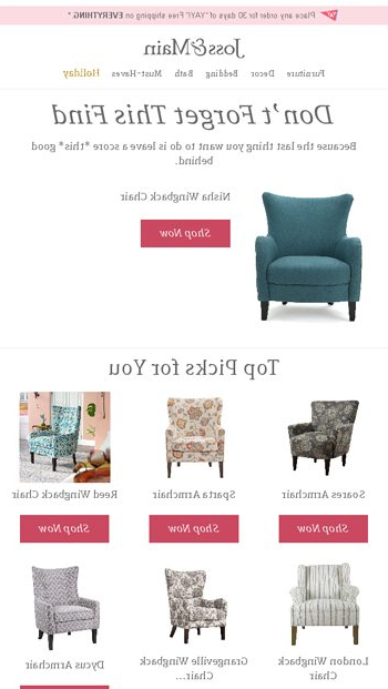 Wainfleet Armchairs Regarding Most Recently Released On The Hunt For Accent Chairs? – Joss & Main Email Archive (View 25 of 30)