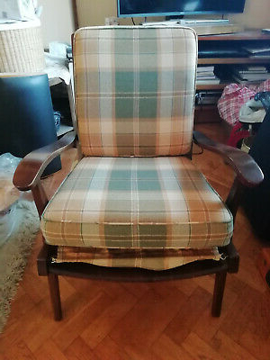 Wainfleet Armchairs Within Widely Used Vintage Cintique Chair With Refurbished Seat Pads – £ (View 19 of 30)