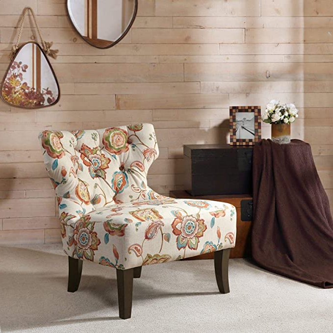 Waterton Wingback Chair: Amazon (View 19 of 30)