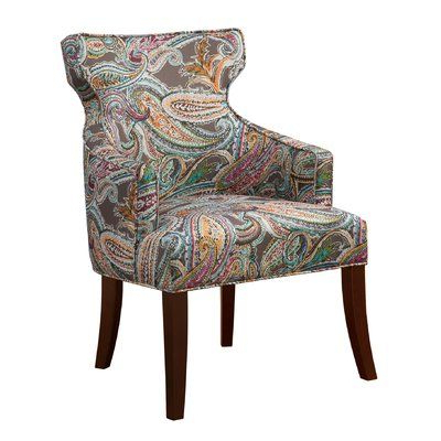 Waterton Wingback Chair In (View 4 of 30)