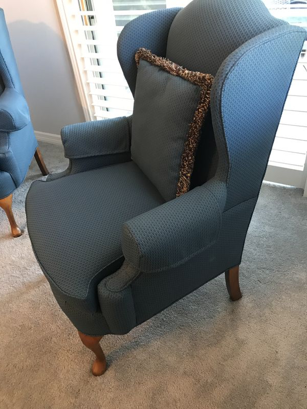 Waterton Wingback Chairs Pertaining To Most Recent New And Used Wingback Chair For Sale In Daytona Beach, Fl (View 24 of 30)