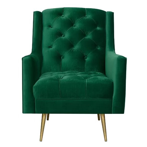 Wayfair Pertaining To Well Liked Annegret Faux Leather Barrel Chair And Ottoman Sets (View 13 of 30)