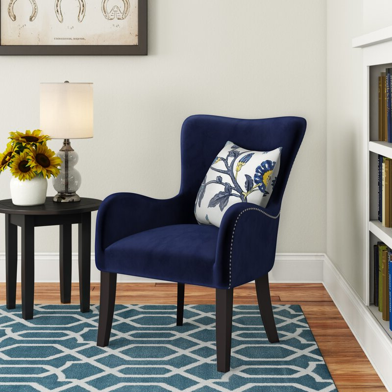 Well Known Andover Wingback Chairs In Quesada Wingback Chair (View 5 of 30)