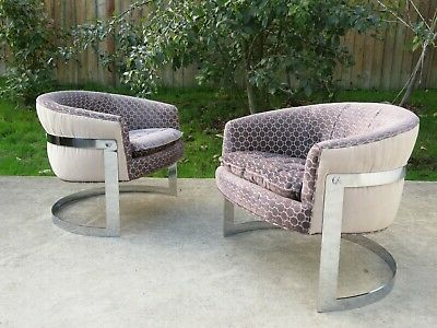 Well Known Chairs – Baughman – Vatican In Riverside Drive Barrel Chair And Ottoman Sets (View 24 of 30)