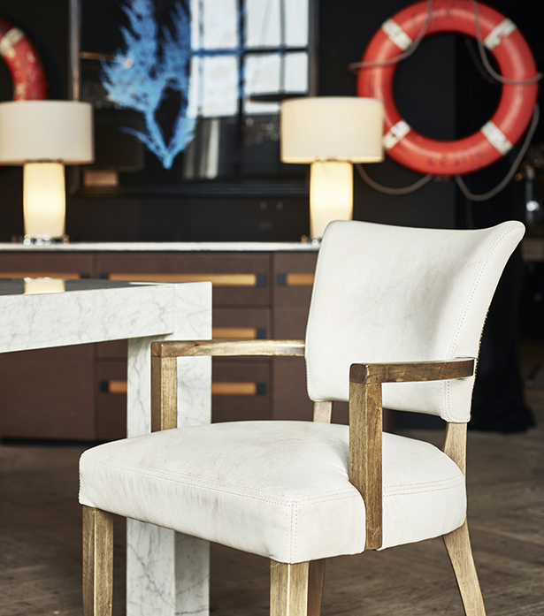 Well Known Chiles Linen Side Chairs For Mimi Dining Chair With Arms (View 12 of 30)