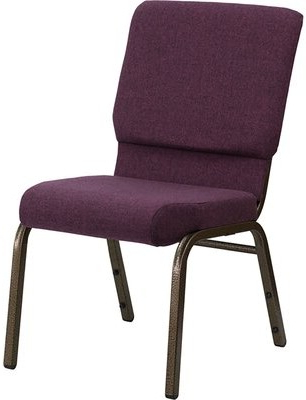 Well Known Claudel Polyester Blend Barrel Chairs Within Plum Chair (View 12 of 30)