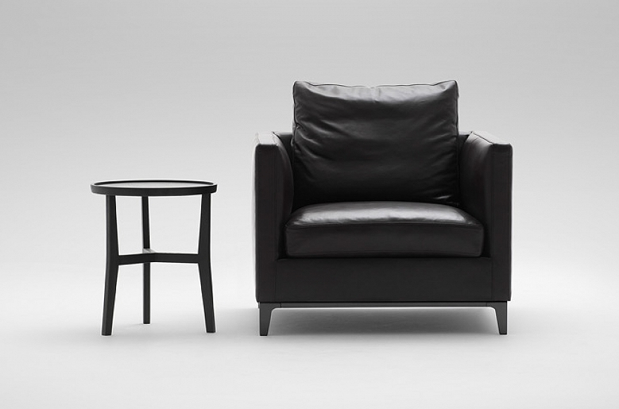 Well Known Cohutta Armchairs Regarding Crescent Lounge Chair – Camerich San Francisco (View 22 of 30)