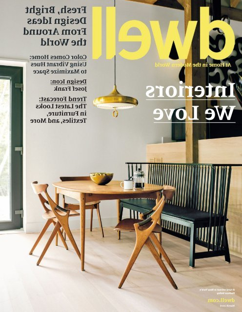 Well Known Dwell 2016 03 With Regard To Gilad Faux Leather Barrel Chairs (View 23 of 30)