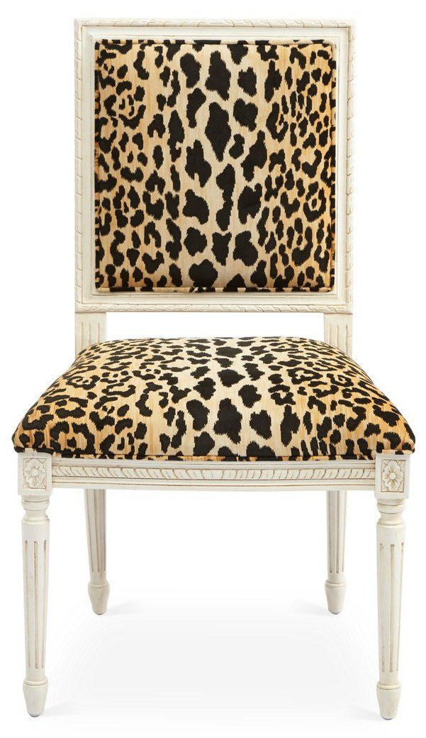 Well Known Exeter Side Chair, Leopard – New Markdowns – Must See Pertaining To Exeter Side Chairs (View 29 of 30)
