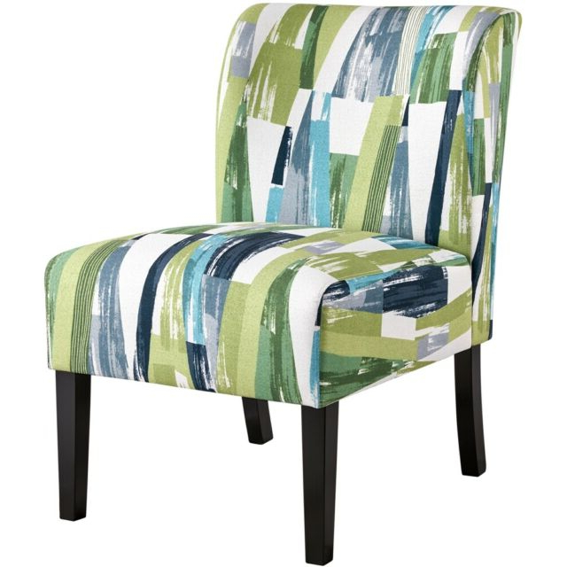 Well Known Fabric Accent Chair Armless Upholstered Chair Slipper Chair Bedroom Living Room With Regard To Armless Upholstered Slipper Chairs (View 25 of 30)