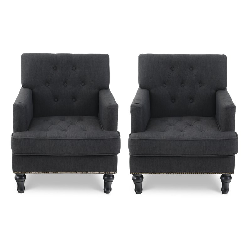 Featured Photo of Georgina Armchairs (Set Of 2)