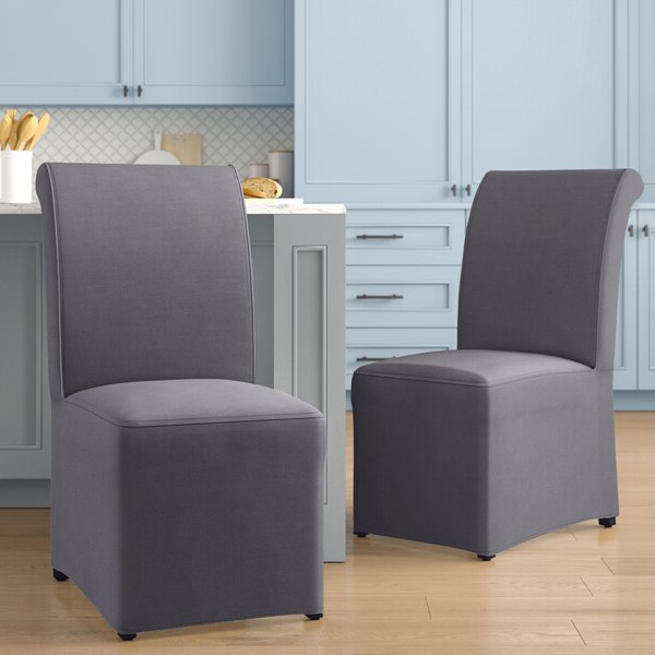 Well Known High Back Chairs With Regard To Galesville Tufted Polyester Wingback Chairs (View 27 of 30)