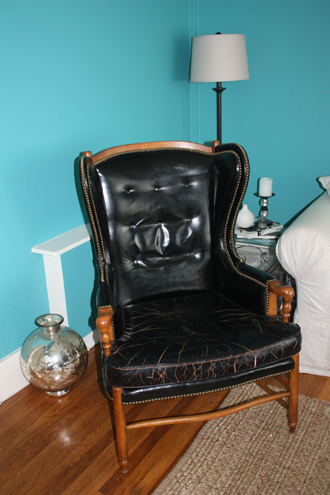 Well Known Marisa Faux Leather Wingback Chairs With How To Restore Leather And Wood Furniture (View 30 of 30)