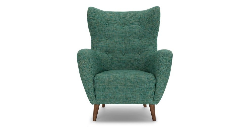 Well Known Mod Spearmint Aqua Armchair For Portmeirion Armchairs (View 27 of 30)