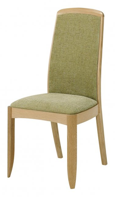 Well Known Nathan 3805 Shades Oak Fully Upholstered Dining Chair With Regard To Carlton Wood Leg Upholstered Dining Chairs (View 28 of 30)