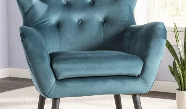 Well Liked Bouck Wingback Chairwilla Arlo Interiors Review In Bouck Wingback Chairs (View 5 of 30)