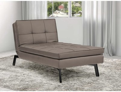 Well Liked Brooklyn Convertible Chaise Lounge Sealy Sofa Convertibles Regarding Onderdonk Faux Leather Convertible Chairs (View 23 of 30)