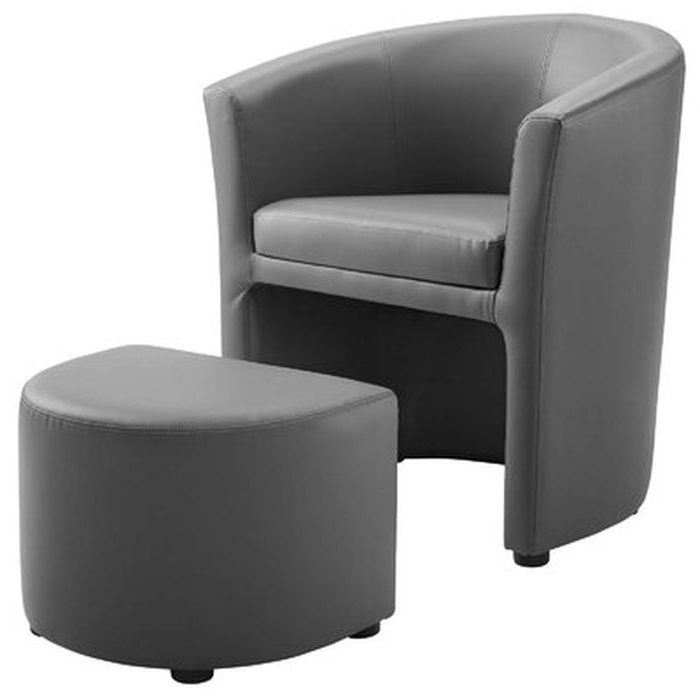 Well Liked Darvin Barrel Chair And Ottoman – Wayfair Intended For Jazouli Linen Barrel Chairs And Ottoman (View 26 of 30)