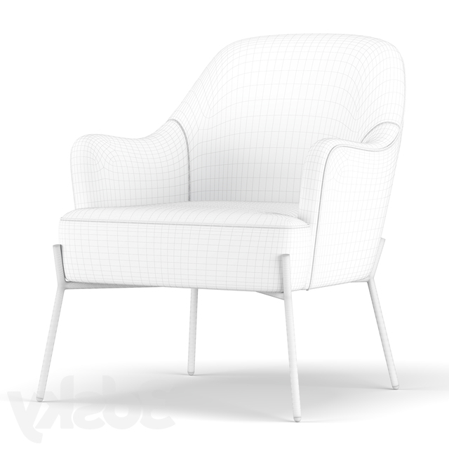 Well Liked Erastus Armchairs Intended For 3d Models: Arm Chair – Erastus Armchair (View 29 of 30)