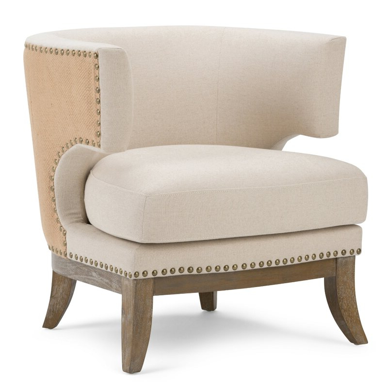 Well Liked Jaden Barrel Chair For Barnard Polyester Barrel Chairs (View 14 of 30)