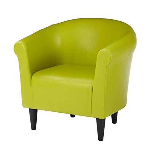 Well Liked Liam Faux Leather Barrel Chairs Pertaining To Price Tracking For: Zipcode Design Faux Leather Barrel Chair (View 8 of 30)