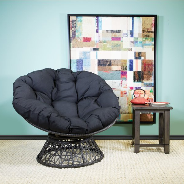 Well Liked Papasan Chair With Cushion For Campton Papasan Chairs (View 4 of 30)