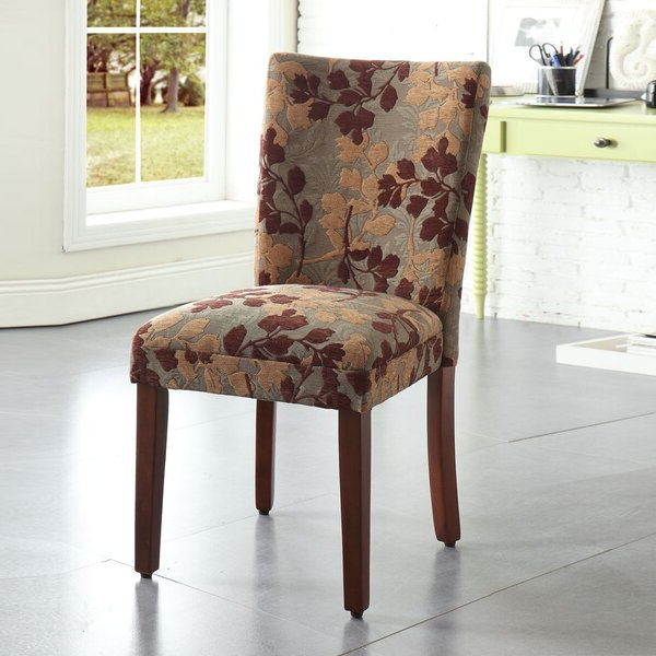 Widely Used Aaliyah Parsons Chairs With Regard To Patterned Parsons Chair (View 20 of 30)