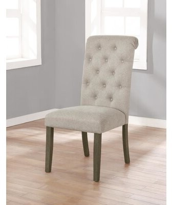 Widely Used Alwillie Tufted Back Barrel Chairs For Dwyatt Tufted Parsons Chair Upholstery Color: Beige (View 17 of 30)