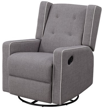 Widely Used Graceville Shelter Manual Swivel Recliner Pertaining To Zalina Swivel Armchairs (View 18 of 30)