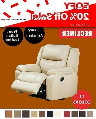Widely Used Jill Faux Leather Armchairs For Jill Recliner Chair Armchair Luxury Sofa Lounge In Leather – 11 Colours (View 16 of 30)