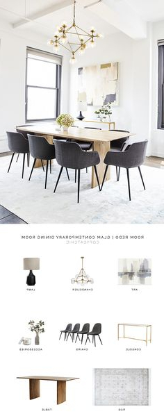 Widely Used Madison Avenue Tufted Cotton Upholstered Dining Chairs (set Of 2) With Regard To 10 Dining Room Ideas (View 25 of 30)