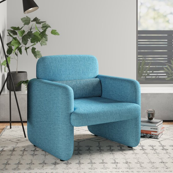 Widely Used Modern & Contemporary Azemmour Woven Arm Chair Inside Oglesby Armchairs (View 21 of 30)