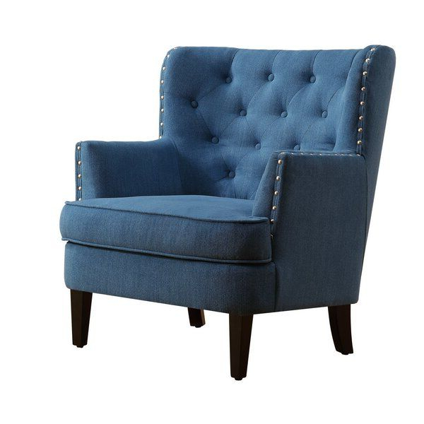 Wingback Chair, Blue Accent Chairs (View 4 of 30)