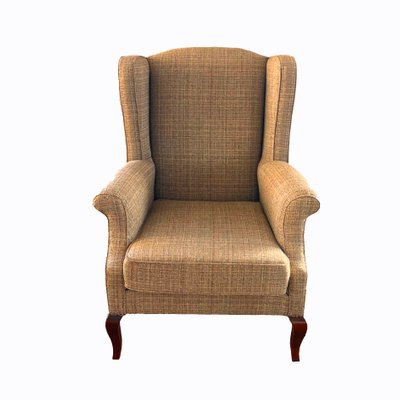 Wingback Chair & Ottoman, 1990s With Recent Busti Wingback Chairs (View 20 of 30)