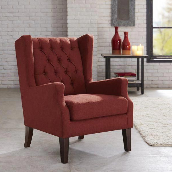 Wingback Chair, Tufted Wing Chair (View 6 of 30)