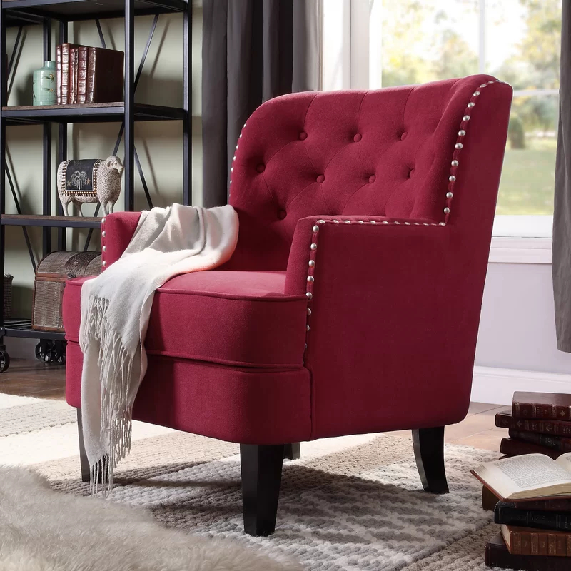 Winston Porter Lenaghan Wingback Chair & Reviews (View 2 of 30)