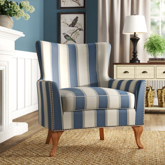 Young Armchairs By Birch Lane With Regard To Well Known Adlai Wingback Armchair (View 18 of 30)