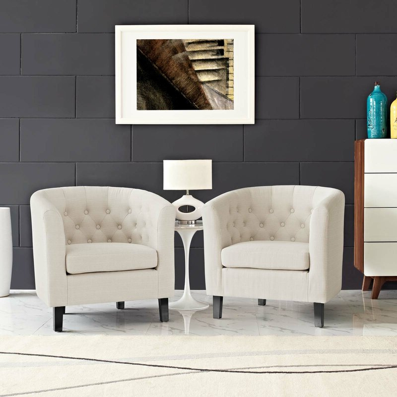 """Ziaa Armchairs (set Of 2) Intended For Latest Ziaa 21"""" Armchair (View 3 of 30)"""