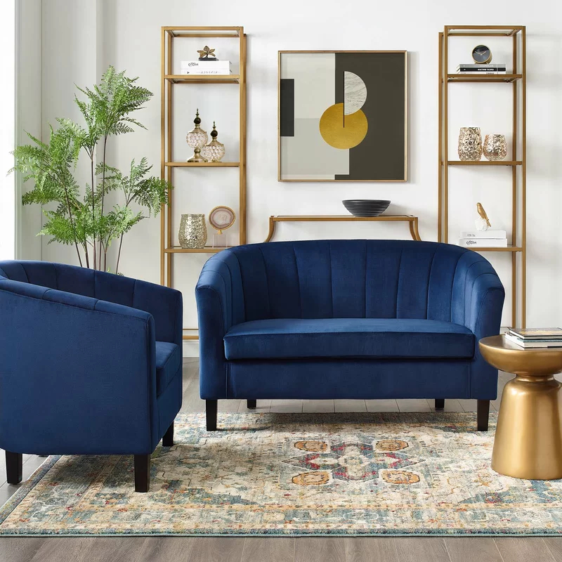 Ziaa Armchairs (set Of 2) Pertaining To Well Known Ziaa Performance 2 Piece Living Room Set (View 7 of 30)