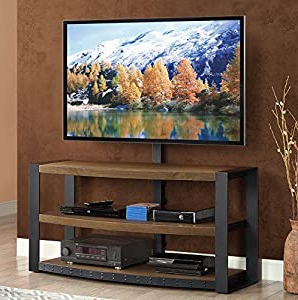 """2019 Amazon: Whalen Furniture Santa Fe 3 In 1 Tv Stand Regarding Metin Tv Stands For Tvs Up To 65"""" (View 30 of 30)"""