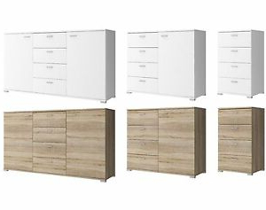 """2019 Chest Of Drawers Sideboard 50cm 100cm 150cm Wide Single With Regard To Brentley 54"""" Wide 1 Drawer Sideboards (View 15 of 30)"""